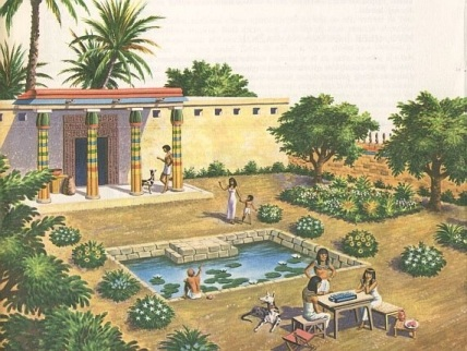 Gradini egiptene antice 2